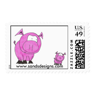 Pigs Stamps