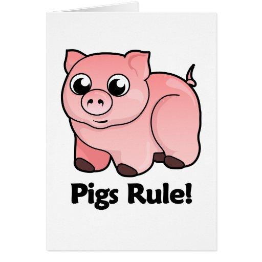 Pigs Rule! Card