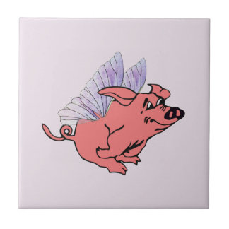 Pigs Will Fly Tile