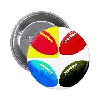 Pigskin 1 pinback button