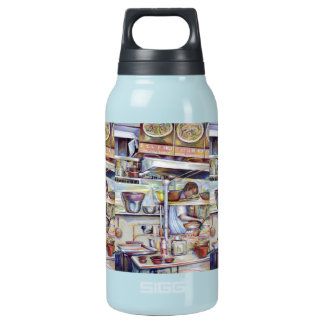 Pigtail Soup, Singapore 10 Oz Insulated SIGG Thermos Water Bottle