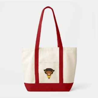 Pigtails and Ice Cream Tote Bag