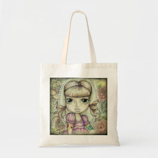 Pigtails and Tattoo's Canvas Bags