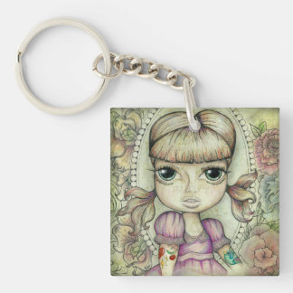 Pigtails and Tattoo's Key Chains
