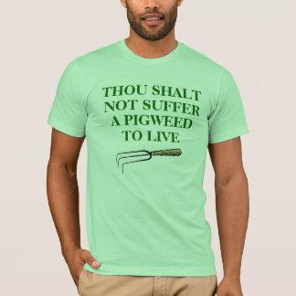 Pigweed T-Shirt, Unisex, Mint Green T-Shirt