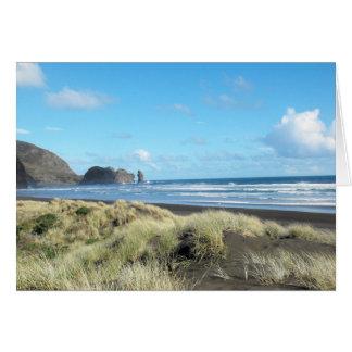 Piha Beach Card