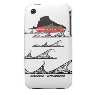 piha - west coast surf iPhone 3 case