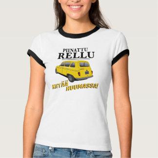 Piinattu Rellu kiitää huumassa t-paidat T-Shirt