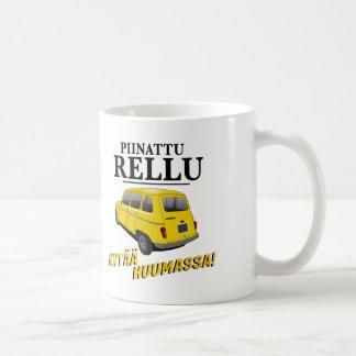 Piinattu Rellu - sananmuunnos huumoria - muki Coffee Mug
