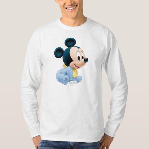 Pijamas del azul de Mickey el | del bebé Playera