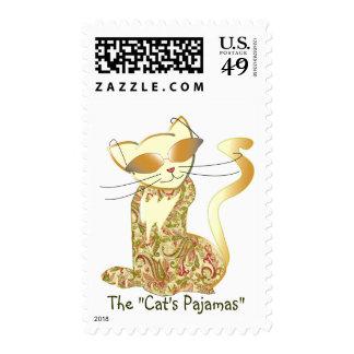 "Pijamas los ""del gato "" sello"
