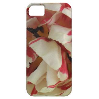 Pik and White Tulip iPhone 5 Case