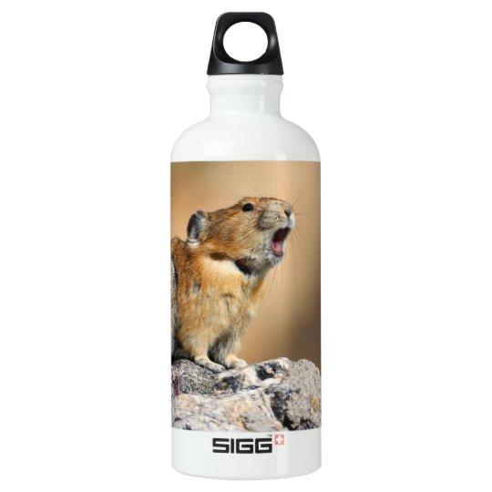 pika howling aluminum water bottle