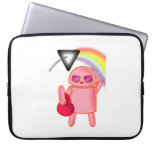 Pika Point Pink Droid Notebook Sleeve Computer Sleeves