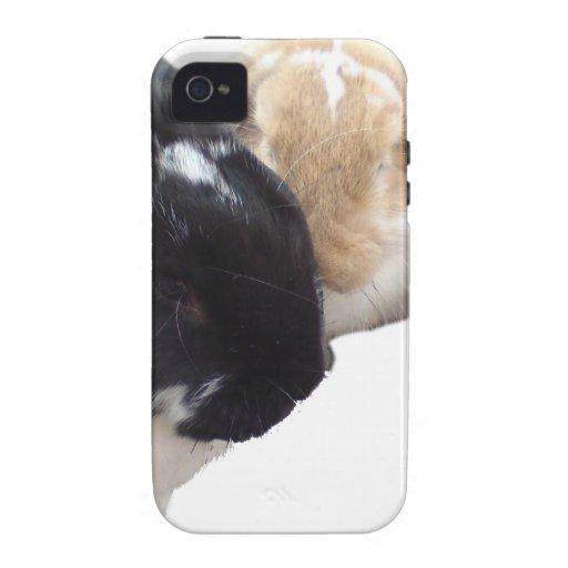 Pika y conejitos de Ollie iPhone 4/4S Carcasa