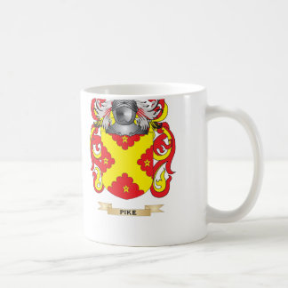Pike Coat of Arms (Family Crest) Coffee Mug