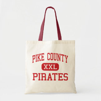 Pike County - Pirates - Middle - Zebulon Georgia Budget Tote Bag
