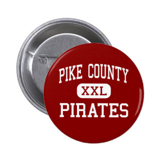 Pike County - Pirates - Middle - Zebulon Georgia 2 Inch Round Button
