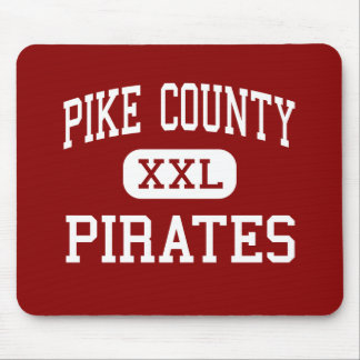 Pike County - Pirates - Middle - Zebulon Georgia Mouse Pad