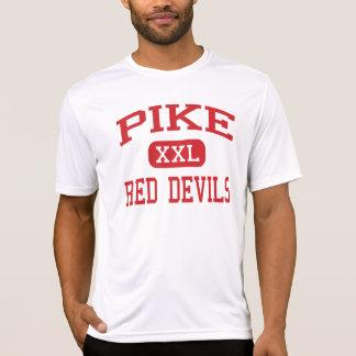 Pike - diablos rojos - alto - Indianapolis Indiana Camisetas