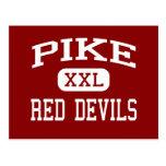 Pike - diablos rojos - alto - Indianapolis Indiana Tarjetas Postales