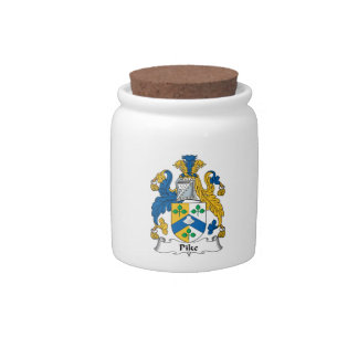 Pike Family Crest Candy Dish
