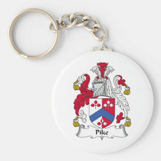 Pike Family Crest Keychain
