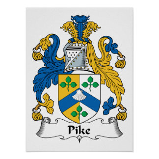 Pike Family Crest Print