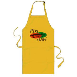 Pike fish. long apron