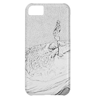 Pike on a lure iPhone 5C case