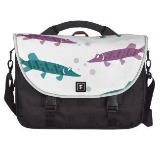 Pike pattern laptop bags