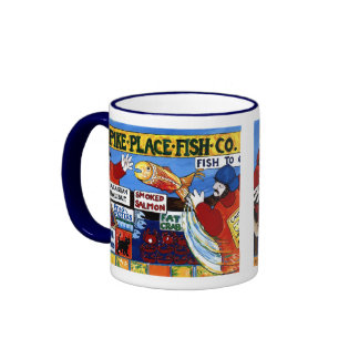 Pike Place Fish Co. Ringer Mug
