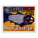Pike Place Fish Print
