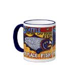 Pike Place Fish Ringer Coffee Mug