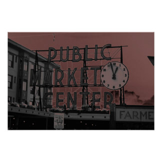 Pike Place Market22 Poster
