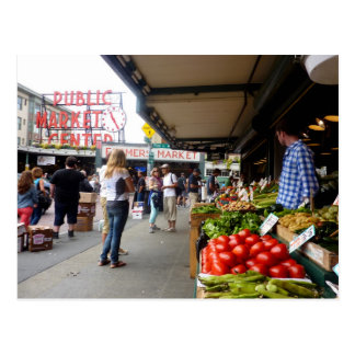 Pike Place Market 1 Postcard