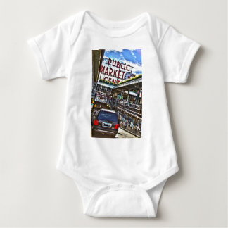 Pike Place Market Baby Bodysuit