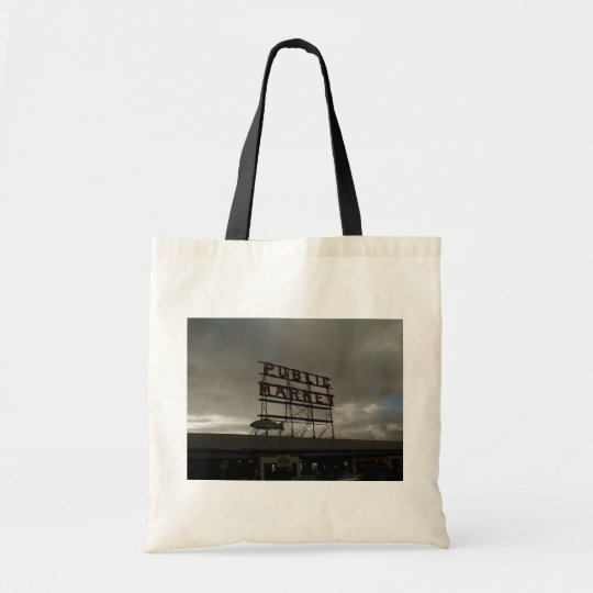 Pike Place Market In Seattle Tote Bag