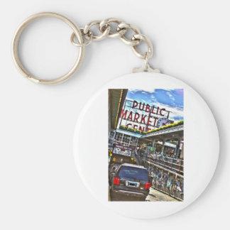 Pike Place Market Key Chains