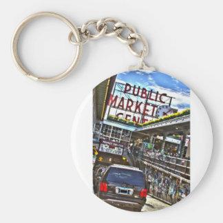Pike Place Market Key Chain