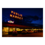 Pike Place Market, Seattle Posters