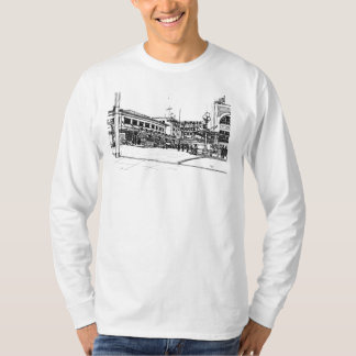 Pike Place Market, Seattle. Sketch T-Shirt