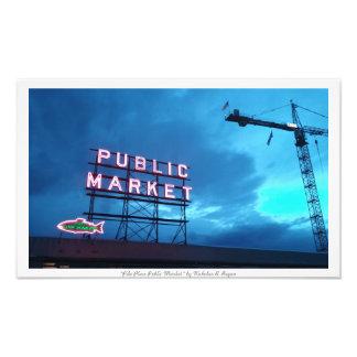 """""""Pike Place Public Market"""" Photo Prints"""