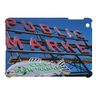 Pike Place Public Market Sign Cover For The iPad Mini