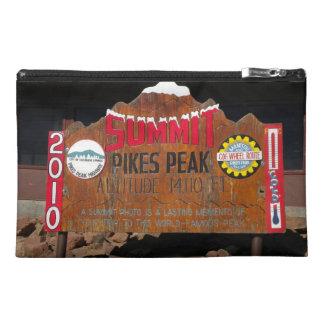 Pike s Peak Summit Colorado Travel Accessory Bag