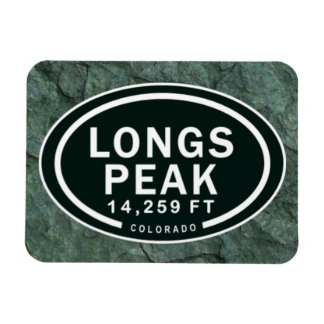 Pikes Peak 14,259 FT Colorado Rocky Mountain Magnet