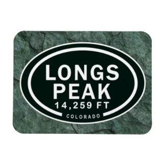 Pikes Peak 14,259 FT Colorado Rocky Mountain Rectangular Photo Magnet