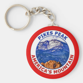 Pikes Peak America's Mountain Keychain
