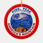 Pikes Peak America's Mountain Ornament
