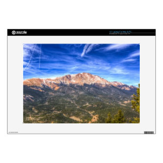 Pikes Peak and Blue Sky Laptop Skin